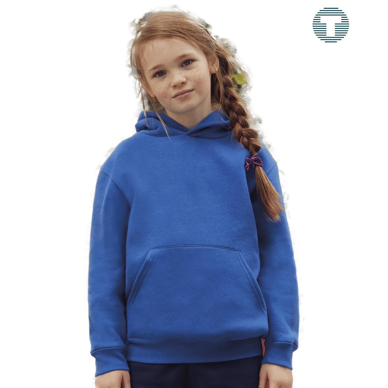 basic kids hoodie bedrukken