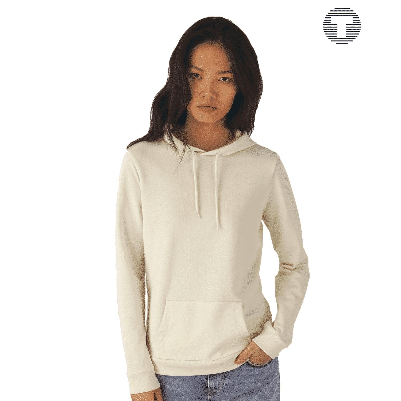 basic dames hoodie bedrukken