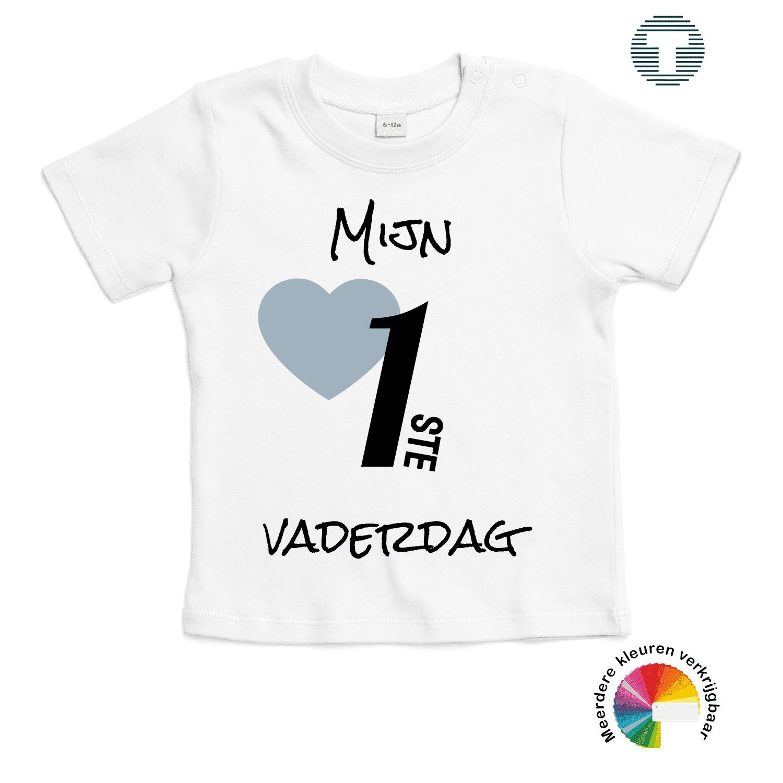 Mijn 1ste vaderdag baby t-shirt