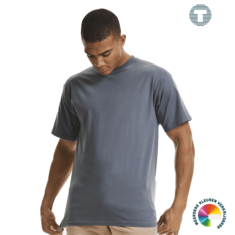 Premium t-shirt Russel ontwerpen en bedrukken