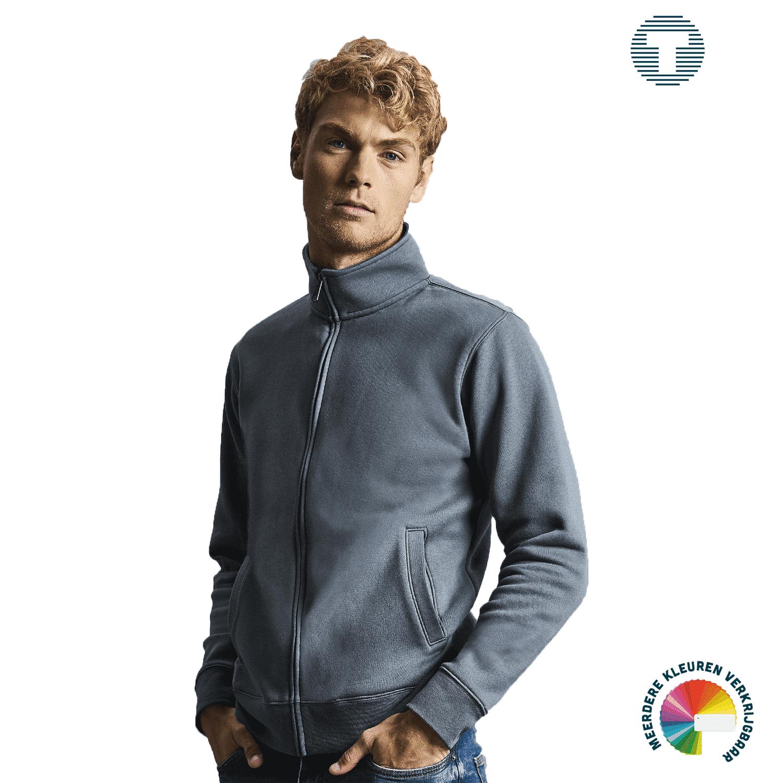 Russel sweater vest ontwerpen en bedrukken