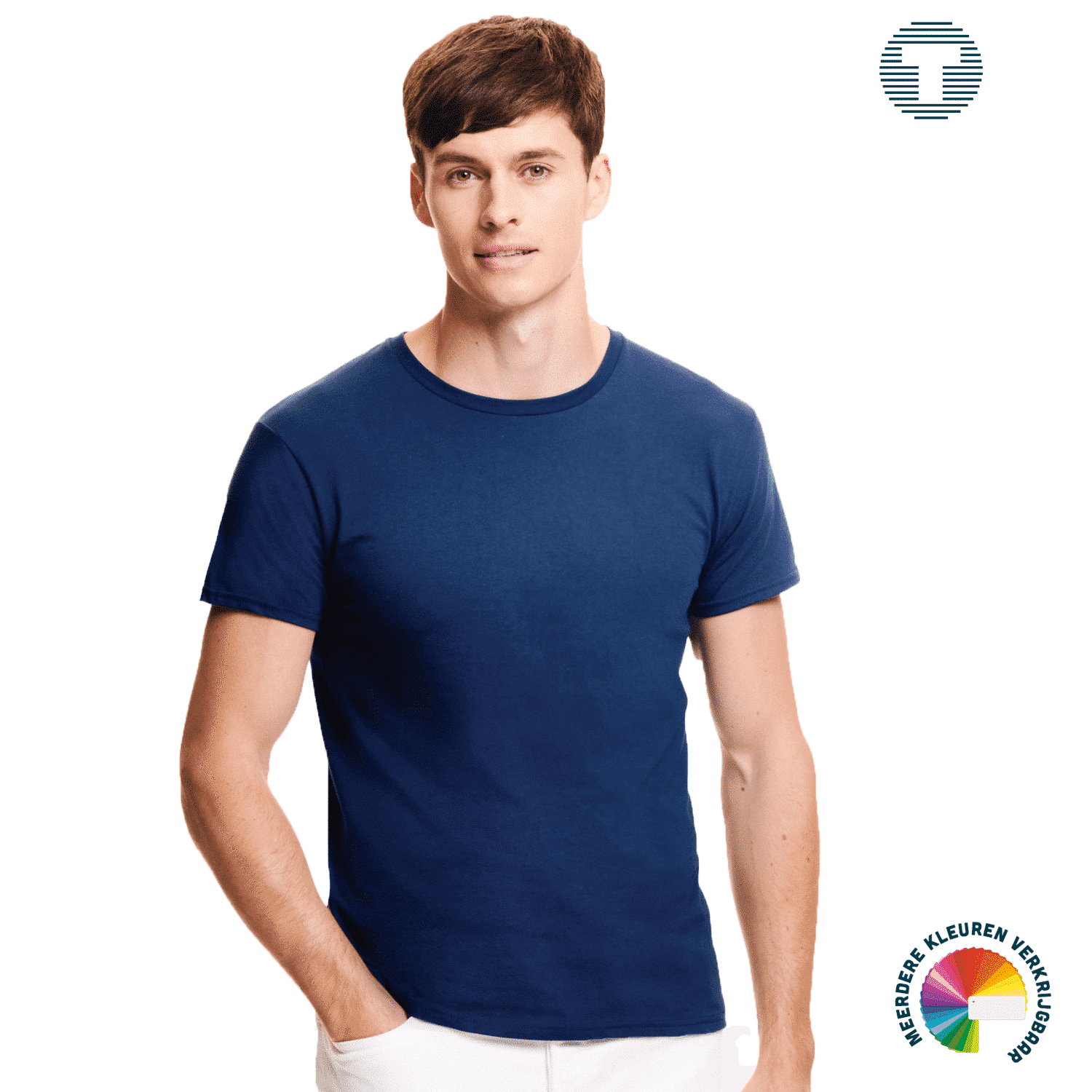 Premium t-shirt Fruit of the Loom ontwerpen en bedrukken
