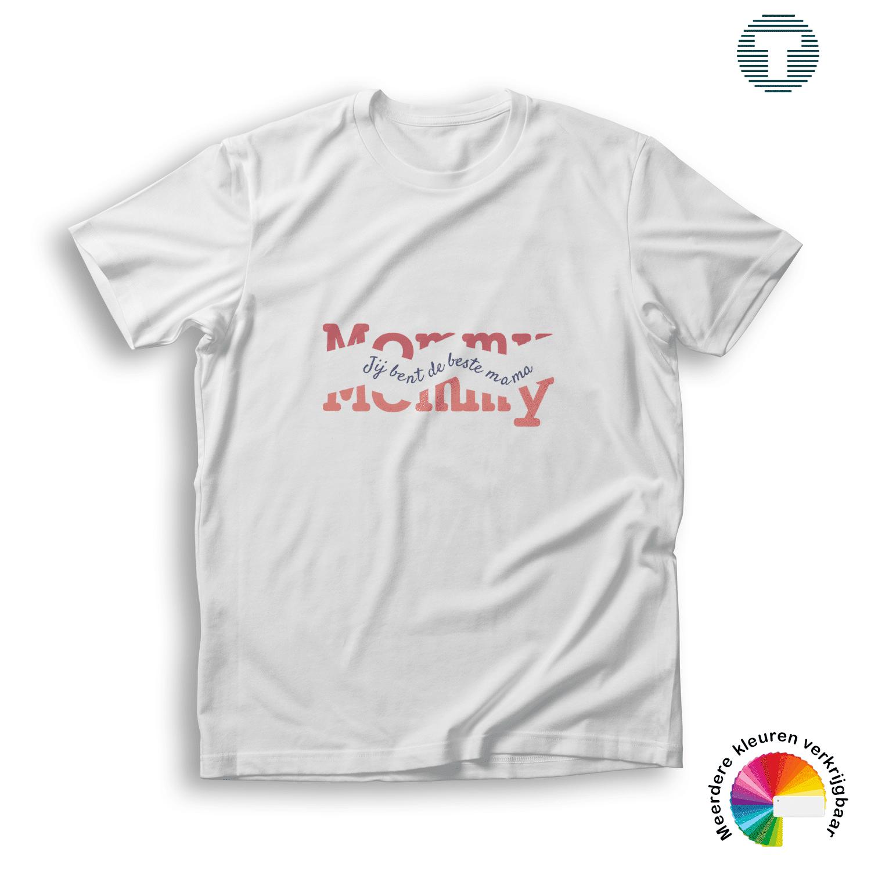 jij bent de beste mama moederdag t-shirt