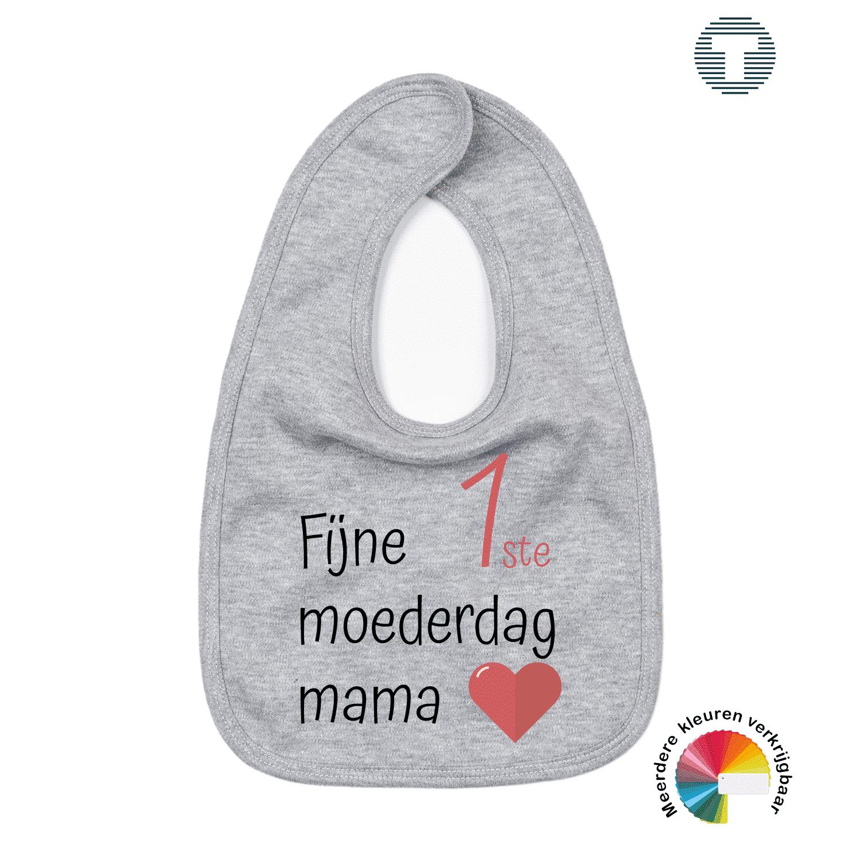 Fijne eerste moederdag mama slabbetje