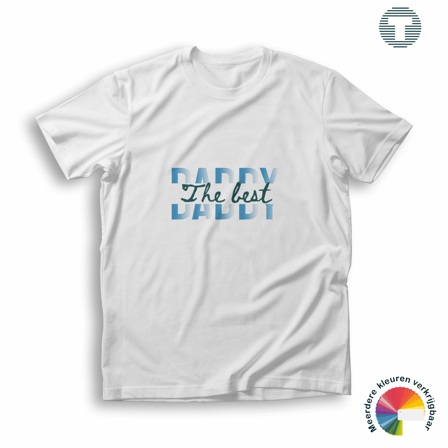 the best daddy vaderdag t-shirt