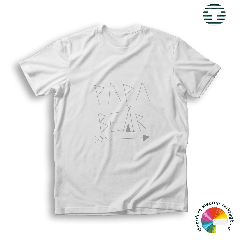 papa bear vaderdag t-shirt
