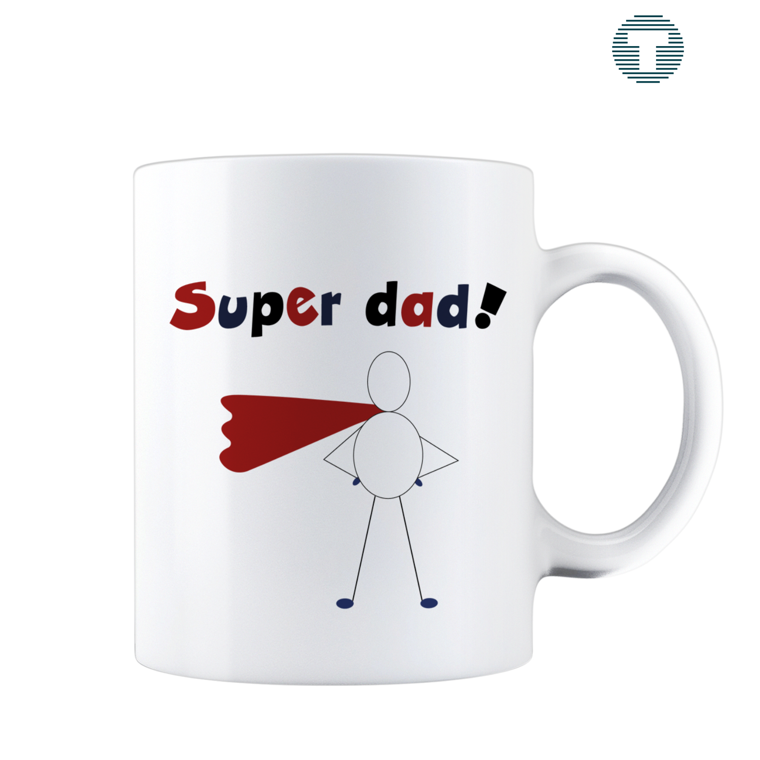 super dad vaderdag mok