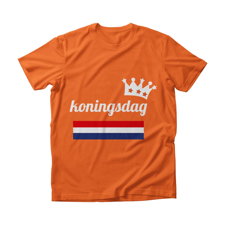 De enige echte koningsdag t-shirt