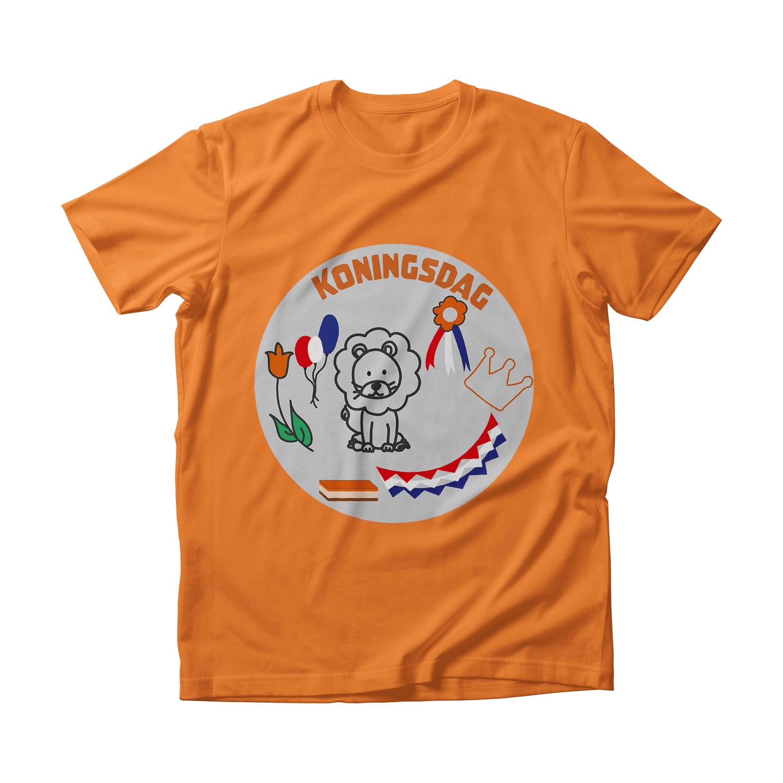 Koningsday t-shirt 2021