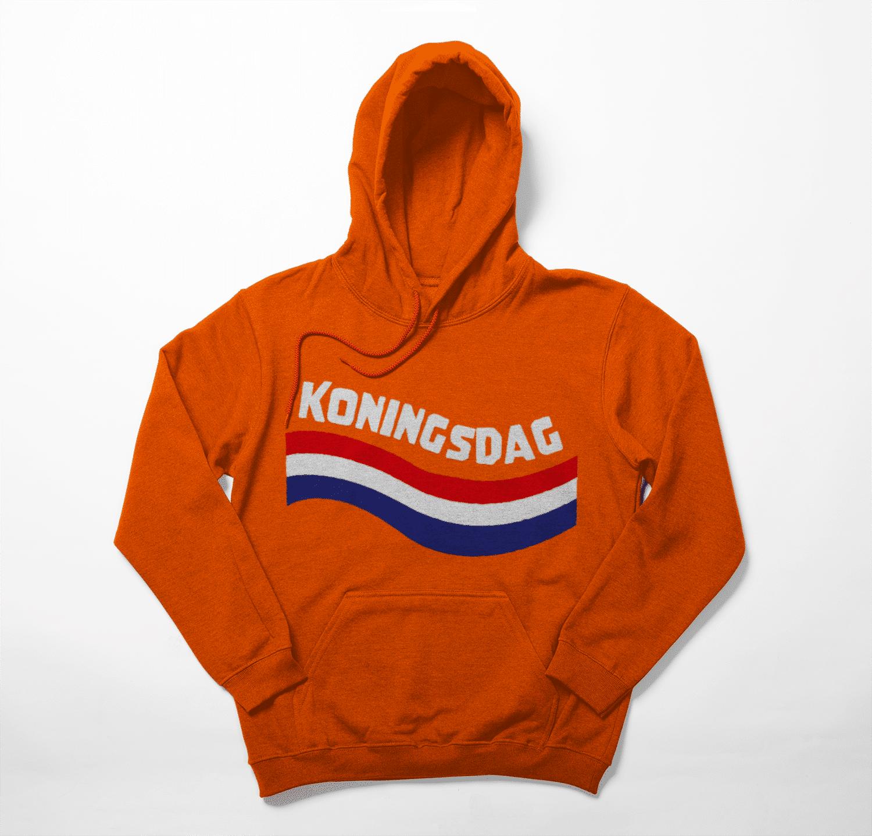 Holland koningsdag hoodie